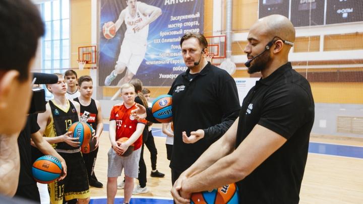 В Перми прошел отборочный этап 5-й «Школы баскетбола СИБУРа»