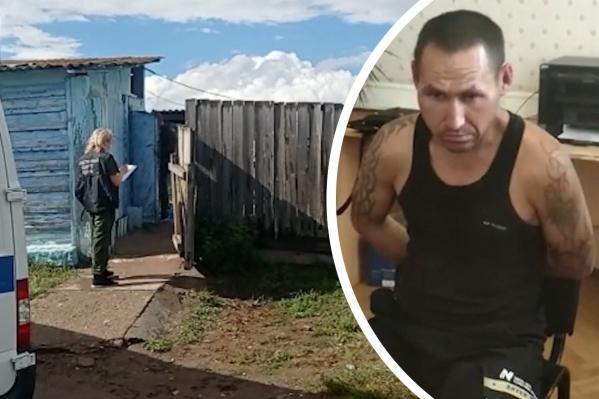 Подозреваемый недавно вернулся из мест лишения свободы, где отбывал наказание за двойное убийство