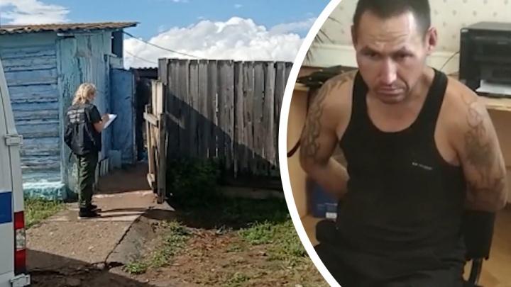 Освободившийся зэк вырезал семью из пяти человек в частном доме