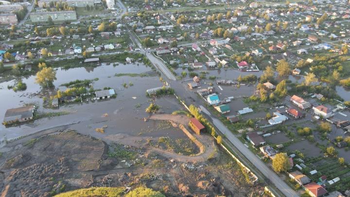 Всё ушло под воду: рассказываем о последствиях потопа в Свердловской области