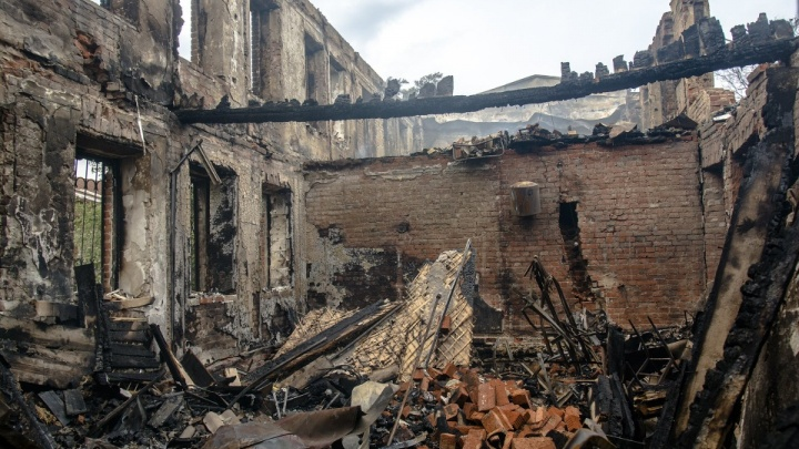 Администрация Ростова показала, что появится на месте сгоревших домов Театрального спуска