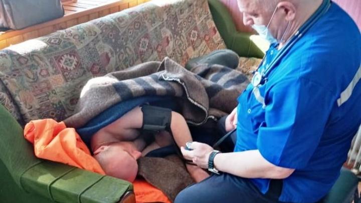 «Держался из последних сил»: в Ярославле спасли невезучего рыбака