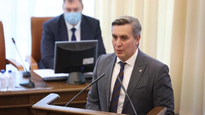 Лидер красноярских единороссов Додатко избран спикером Заксобрания на безальтернативной основе
