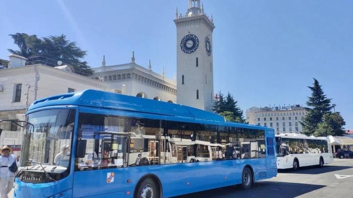 Власти Сочи хотят перевести на метан весь общественный транспорт
