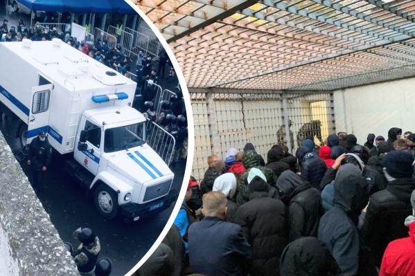 Задержанными остаются около 40 болельщиков