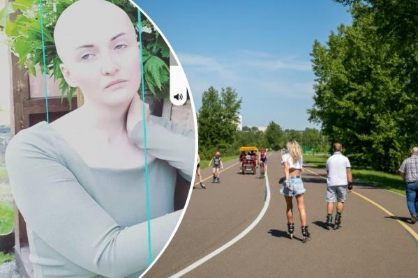 Девушка, по словам волонтеров, могла отправиться на Татышев или остров Отдыха