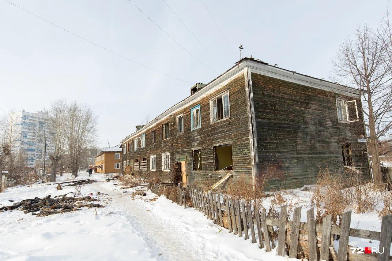 Так выглядят дома после расселения