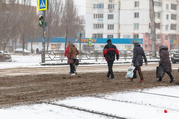 Потепление будет сопровождать мокрый снег