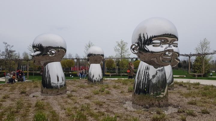 Скульптор из США рассказал, как у него заказали арт-объект для парка «Краснодар»
