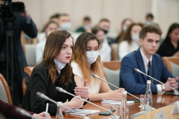Хабиров ответил на вопросы студентов
