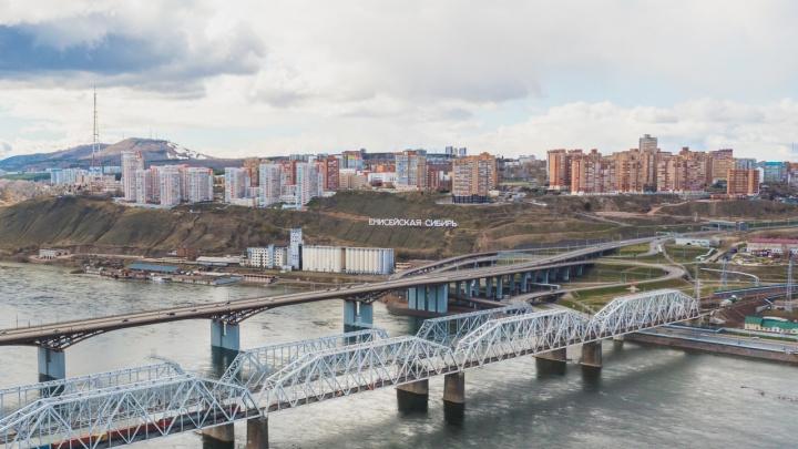 Склон под надписью «Енисейская Сибирь» около 4-го моста раскопают археологи