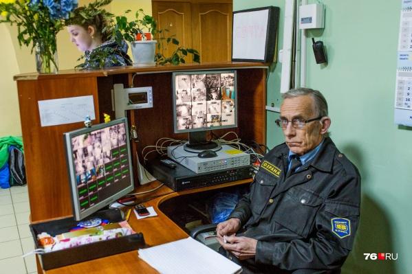 Только 35 образовательных учреждений Ярославля охраняют профессионалы
