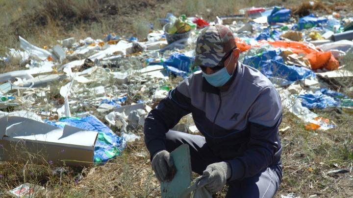 «Уберем только самое токсичное»: администрация Волгограда заявила, что на полную уборку свалок денег нет