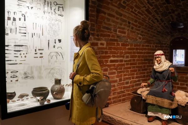 Нижегородцы смогут увидеть предметы быта средневековых горожан