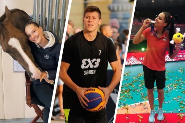 Олимпийцы из Свердловской области будут выступать в девяти видах спорта