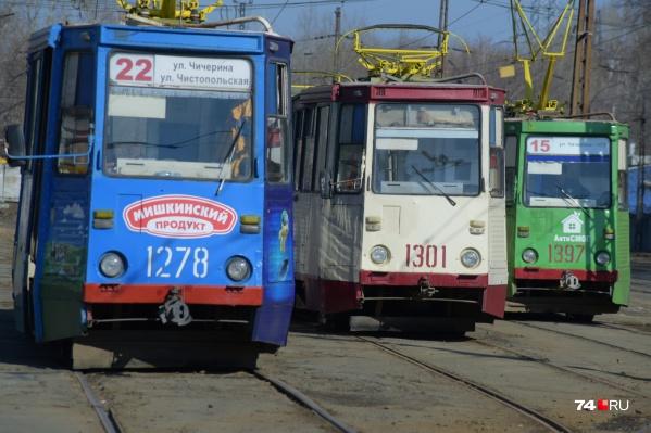 """С 30 июля будет закрыто движение трамваев <nobr class=""""_"""">№ 8</nobr>, 18, 22 на улицу Чистопольскую"""