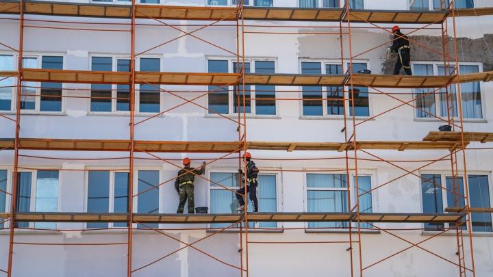 В Ленинском округе построят пятиэтажку с подземным этажом для дачного инвентаря