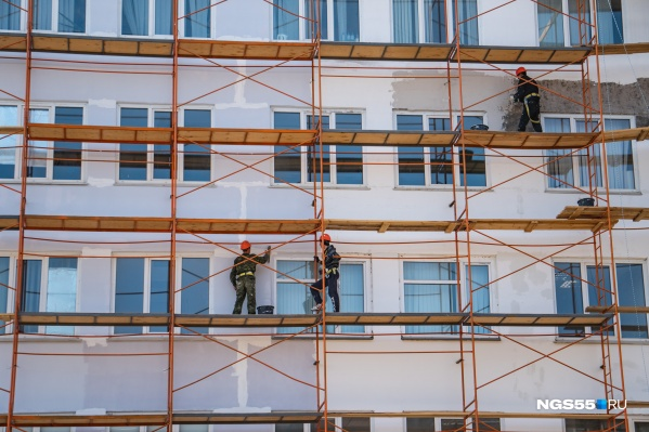 Жилье возведет Омский комбинат панельного домостроения