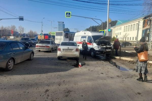 По данным автоинспекторов, никто не пострадал