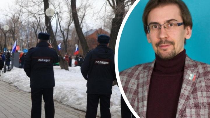 Руководителя тюменского штаба Навального арестовали за организацию несогласованного митинга