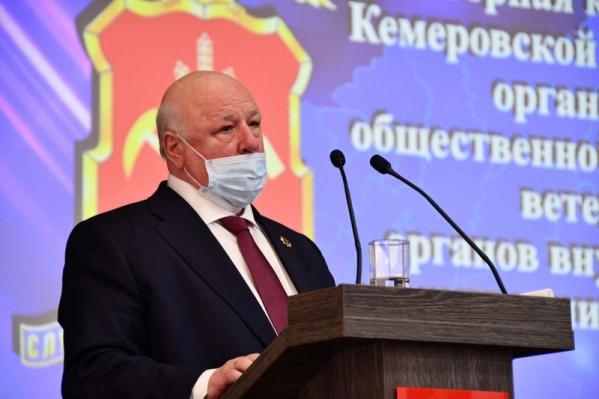 Председателем ветеранского движения МВД Кузбасса стал генерал-лейтенант милиции Анатолий Виноградов