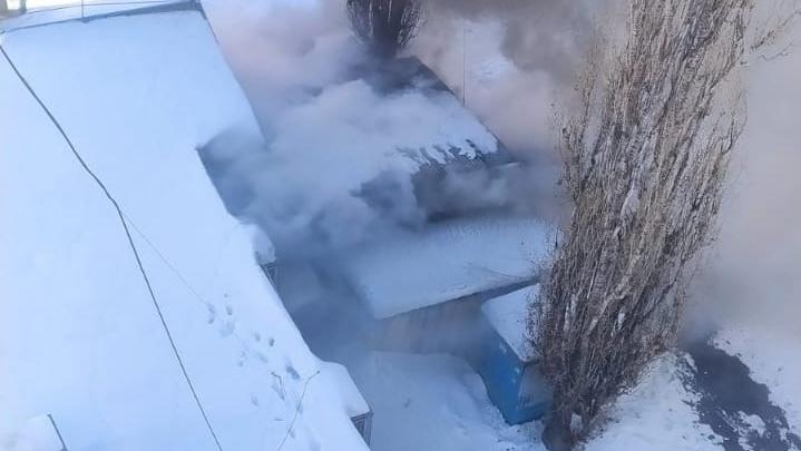 При пожаре в нижегородском кафе «Уют» пострадал мужчина