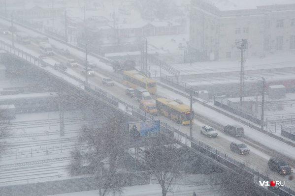 Синоптики предполагают, что город и область вновь завалит снегом