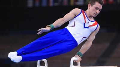 """Российские гимнасты взяли золото Олимпиады в командном зачете. Это случилось впервые с <nobr class=""""_"""">1996 года</nobr>"""