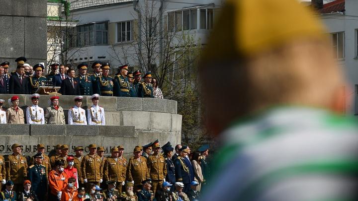 Закрытый парад Победы: выясняем, кто виноват в том, что не все увидели шествие военных в Екатеринбурге