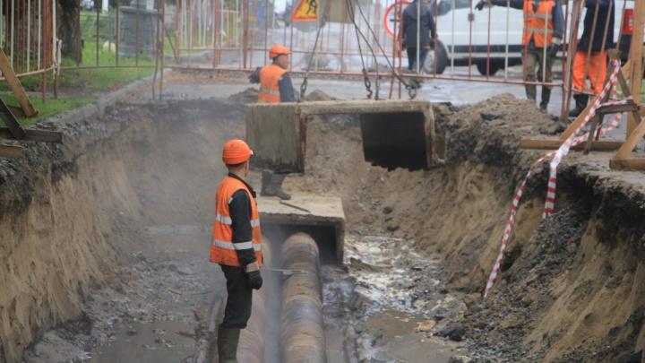 После недели с тазами: в каком порядке будут подключать горячую воду в Архангельске