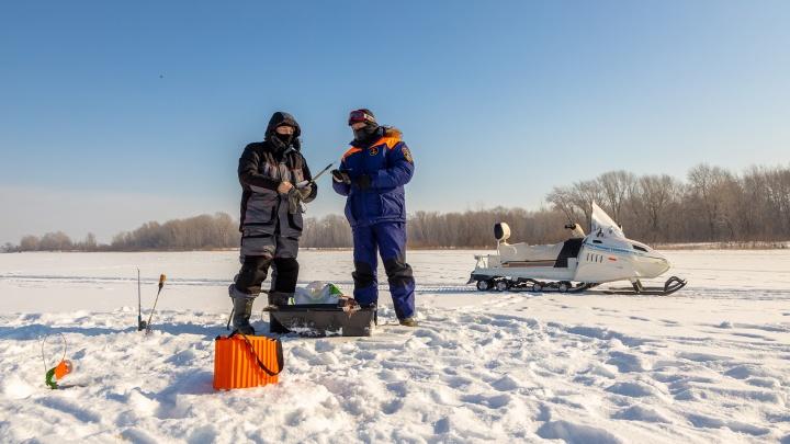 В Самарской области усилят контроль за выходом людей на лед