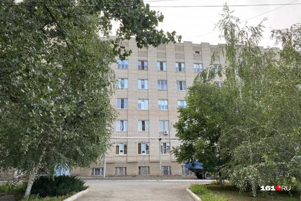 Пострадавших работников химкомбината госпитализировали в больницу Каменска-Шахтинского
