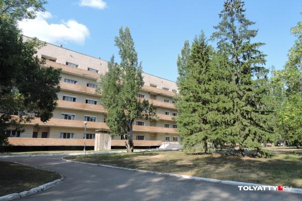 Мигрантов лечили в инфекционной больнице Медгородка Тольятти