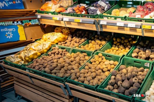 Сейчас цена на картофель достигает 70 рублей