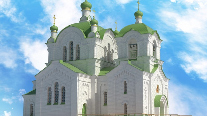 В центре Ростова построят новый храм — копию снесенного при СССР