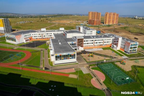 Школа в Солнечном была недавно построена «Сибиряком»