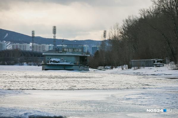Власти Красноярска обеспокоены переполнением рек этой весной