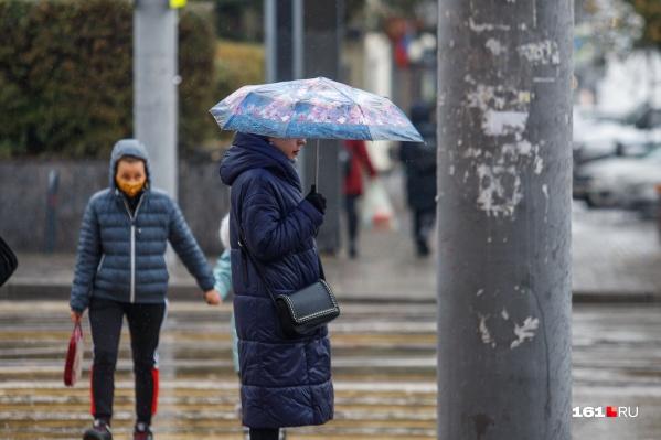 Вместе с дождями к концу недели вернутся и морозы