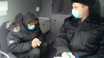 В Омске задержали распилившего щенка живодера