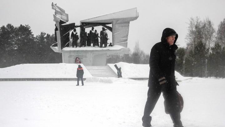 Из Омска за зиму вывезли груду снега. Как он выглядит — в одной картинке
