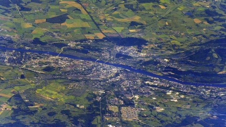 Ярославская область из космоса: три фото, сделанные с МКС