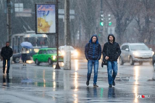 В Волгограде за два дня выпадет месячная норма осадков