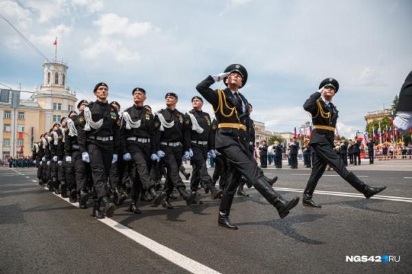 """Репетиции торжественного шествия пройдут <nobr class=""""_"""">29 апреля</nobr>, <nobr class=""""_"""">4 и 6 мая</nobr>"""