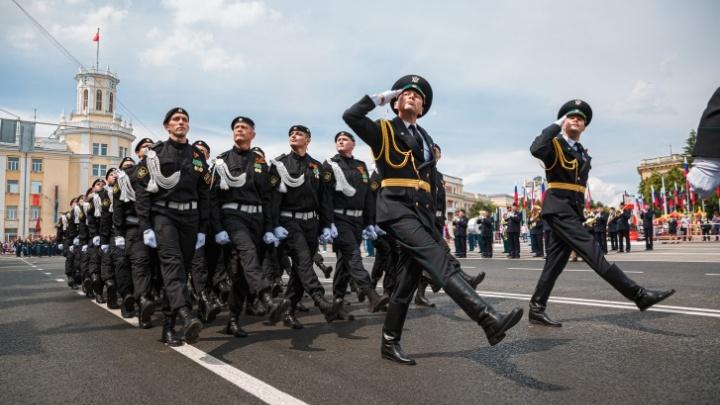 В Кемерово из-за репетиции парада Победы ограничат движение