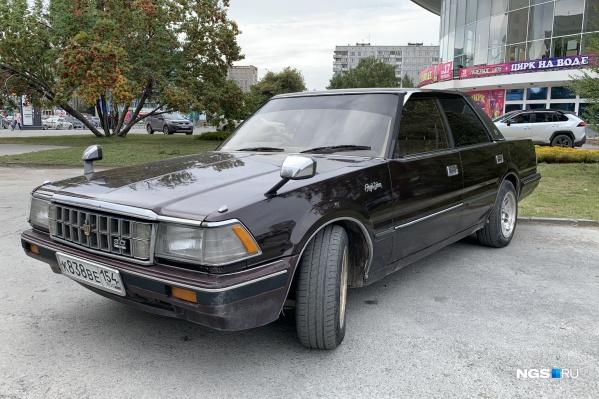 Toyota Crown модификации MS123 сохранился неплохо