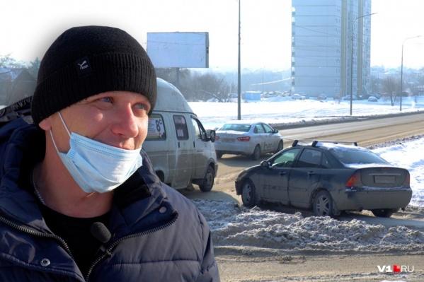 Андрей Ваньков был уверен, что едет по главной. Его оппонент, полицейский, не согласен