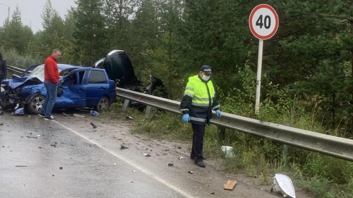 В Краснотурьинске водитель ГАЗа врезался в ВАЗ. В ДТП пострадали двое детей
