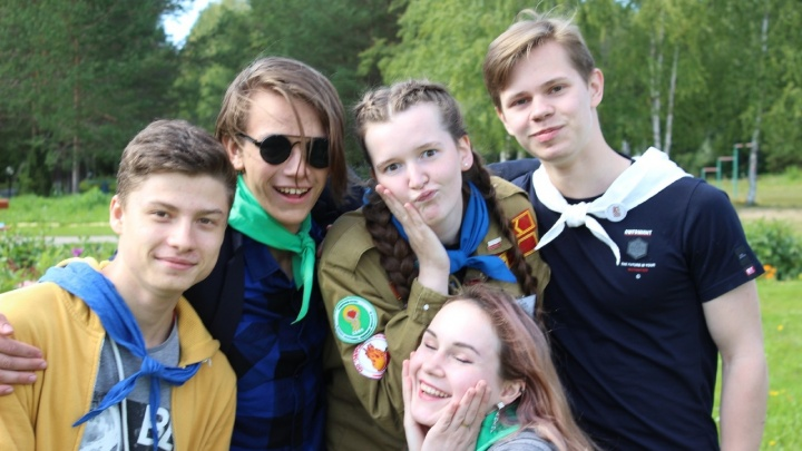 В этом году лучшие вожатые России работали в детских лагерях Архангельска: кто эти люди