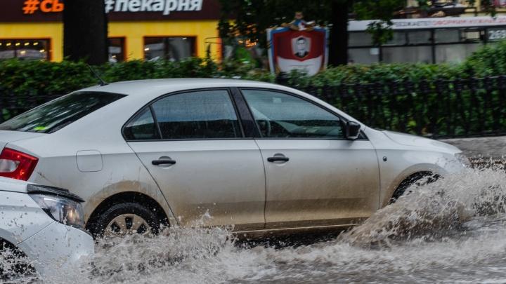 МЧС предупреждает о сильных дождях, грозе и ветре в Пермском крае