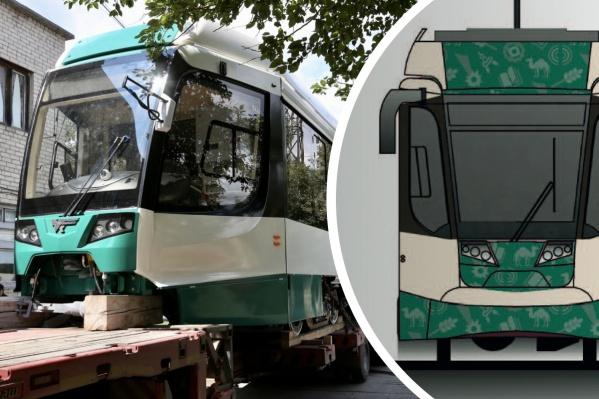 Новые трамваи забрендируют символами, характеризующими Челябинск